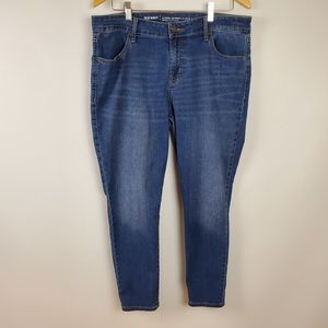Old Navy Mid Rise Super Skinny Jeans Size 14